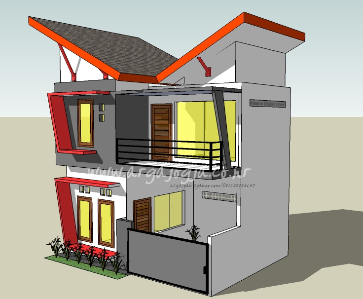 Desain Rumah Minimalis Dengan 3ds Max  desain rumah minimalis 2 lantai sketchup archives rumah