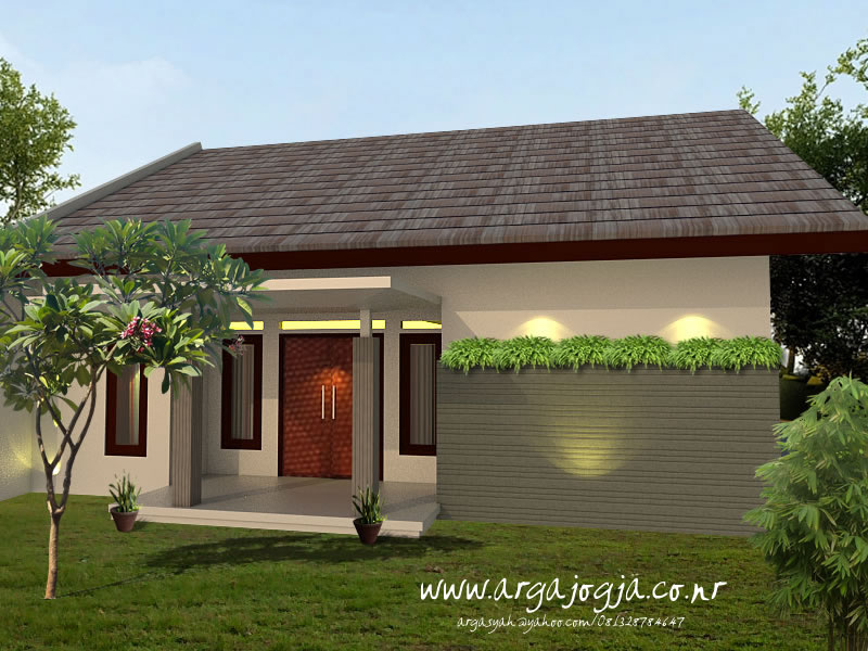 Desain Eksterior Rumah Modern Minimalis Type 90
