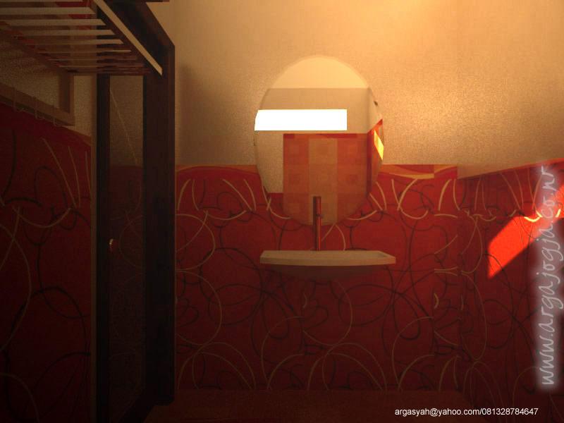 Wastafel dan Cermin Pada Desain Interior Kamar Mandi