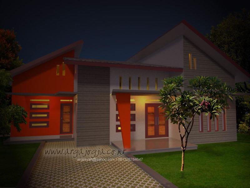 Desain Eksterior Rumah Tropis Modern 2014
