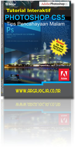 Cover Depan Videu Tutorial Pencahayaan Malam Dengan Photoshop