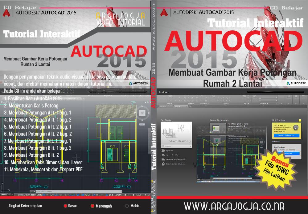 Full Cover Tutorial AutoCAD 2015 Argajogja