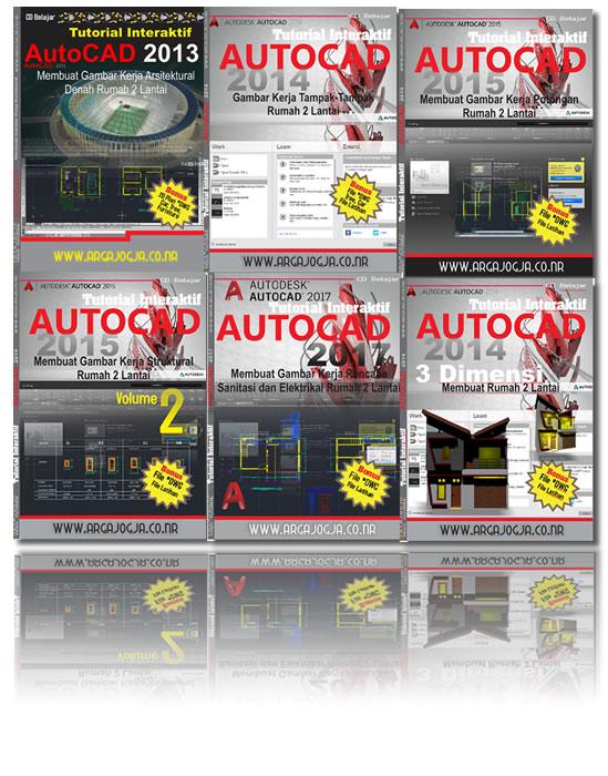Tutorial Lengkap Paket AutoCAD Rumah 2 Lantai