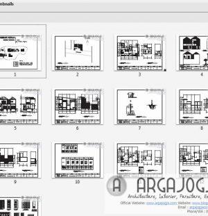 Download Gambar Kerja Toko Rumah Minimalis 2 Lantai + Jasa Arsitek