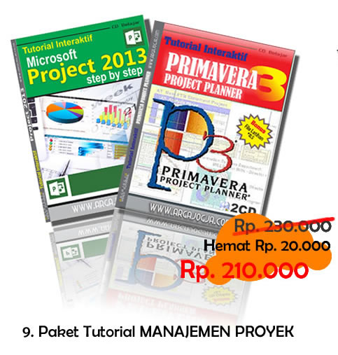Video Paket Tutorial Manajemen Proyek