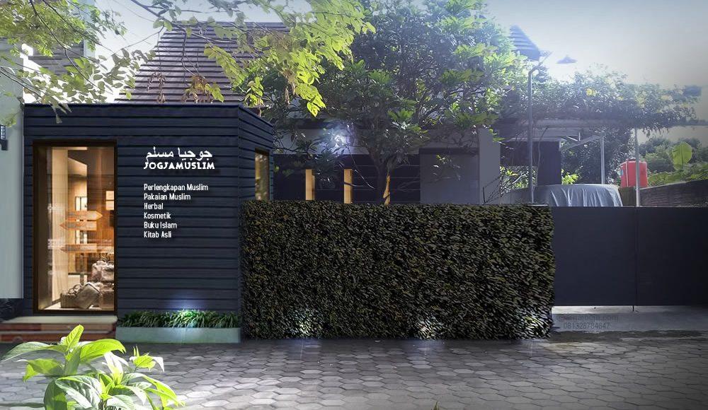 Renovasi Fasad Rumah Tambah Tempat Usaha Kecil