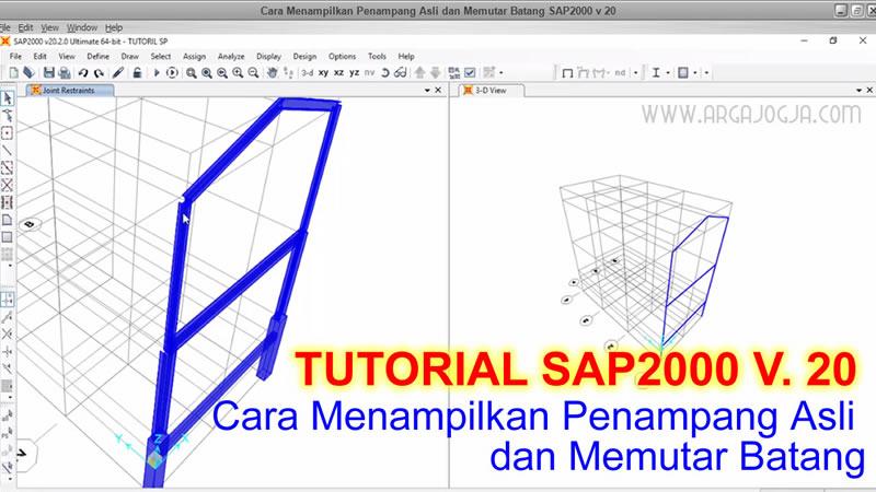 tutorial SAP2000