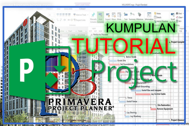kumpulan tutorial ms project primavera